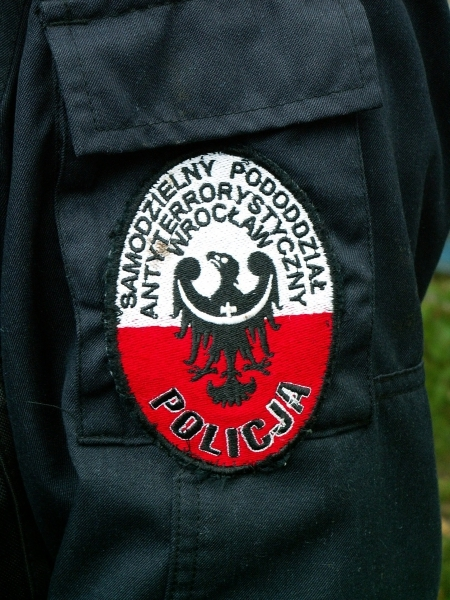 image: Policyjni antyterroryści na ISM...